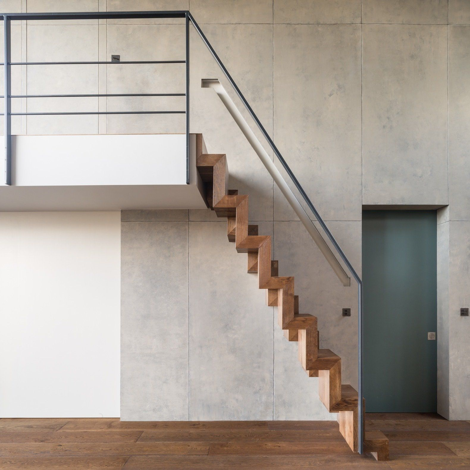 18 Loft Staircase Designs Ideas: Photo 5 Of 14 In A Shabby Attic Becomes A Chic, Cathedral