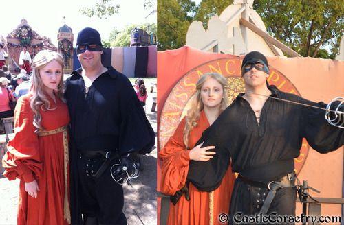 Dread Pirate Roberts & Princess Buttercup