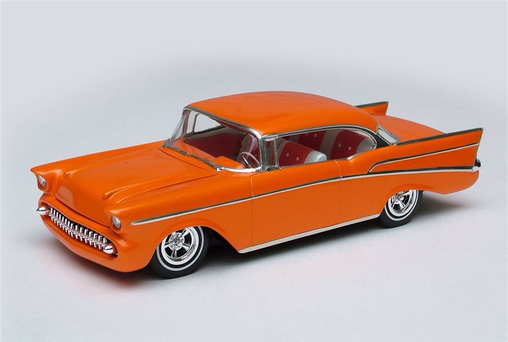 57 Chevy custom Plastic model cars, Custom cars, Diecast