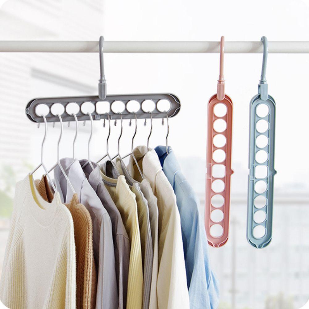 Durable Space Saving Clothes Towel Hook Hanger Closet Organizer Storage In 2020 Storage Closet Organization Towel Hooks Closet Organization