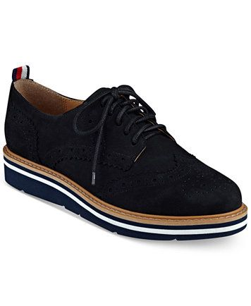 8c0481276 Tommy Hilfiger Women s Kabriele Lace-Up Oxfords