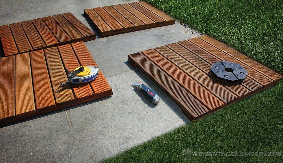 Decking Tiles Installation Ipe Wood Deck Tiles Install Deck Tiles Deck Tile Wood Deck Tiles