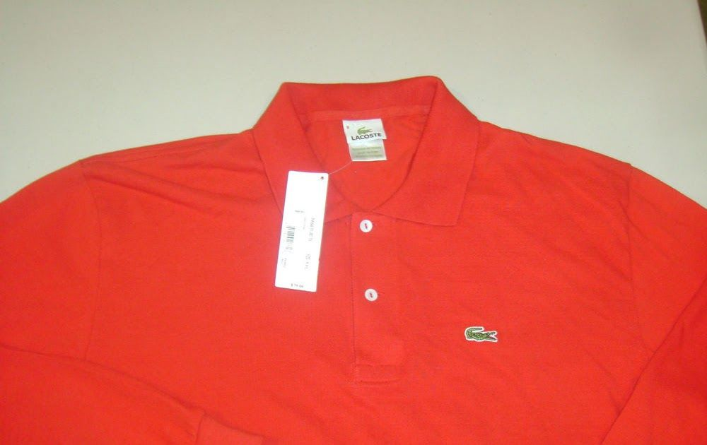 New with tags 7900 lacoste gator logo polo mens ls 82xl shirt new with tags 7900 lacoste gator logo polo mens ls 82xl shirt sciox Images