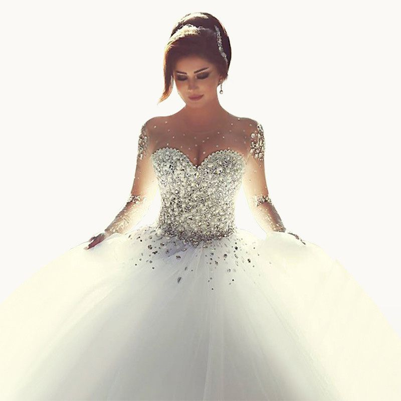 Cheap corset ball gown, Buy Quality bride gowns directly from China ...