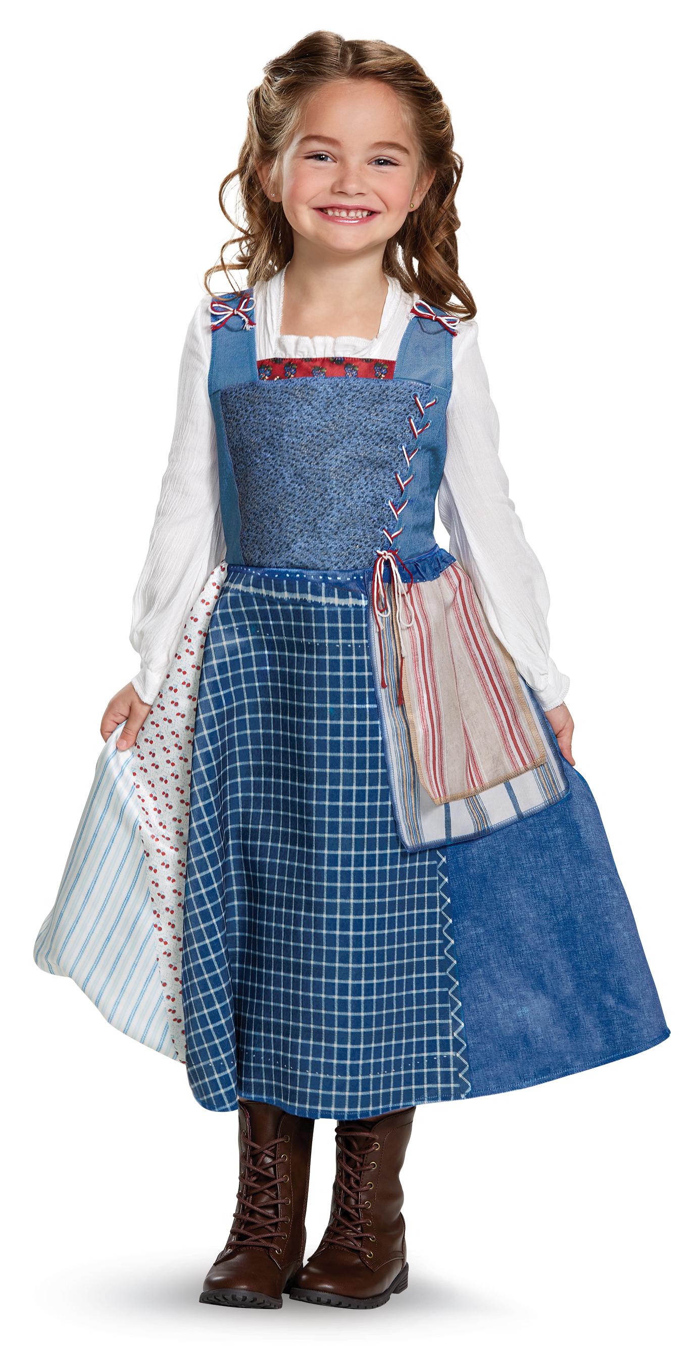Village Belle Dress For Girls Beauty And The Beast Pinterest