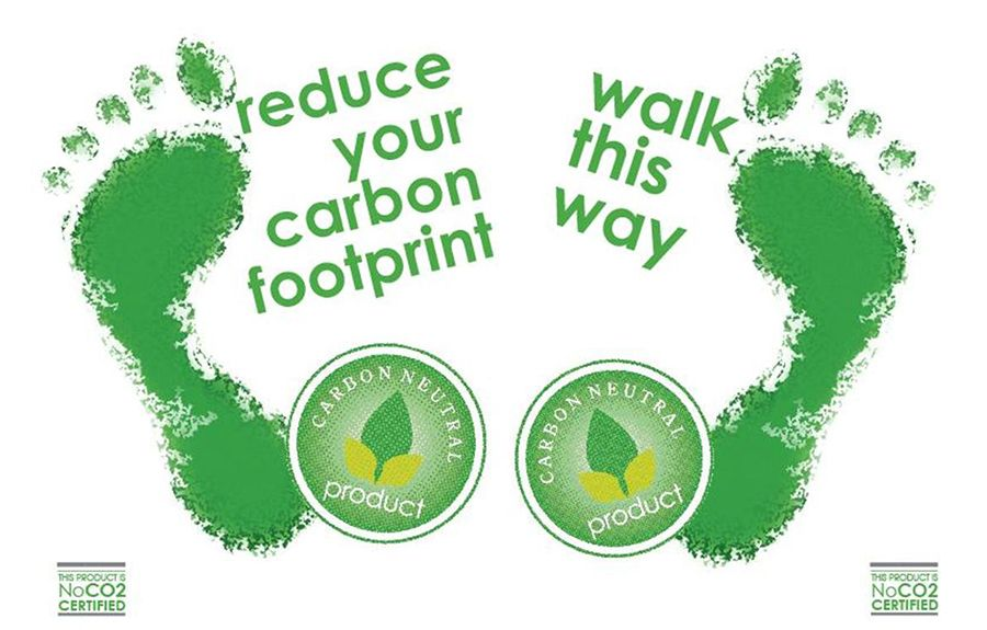 Reduce Your Carbon Footprint Some Tips To Get You Started Footprint Carbon Footprint Carbon