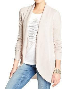 Women's Cocoon Open-Front Cardigans | Old Navy | Work attire ...