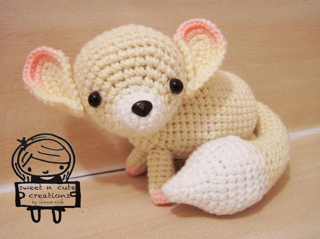 Amigurumi Fifi the Fox