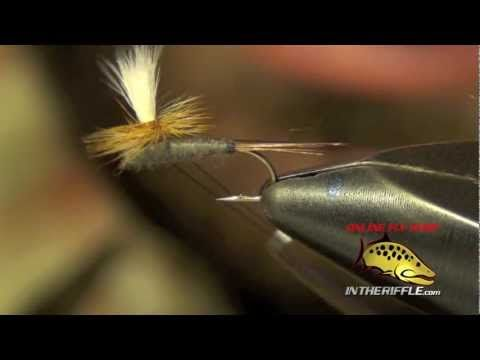 PARACHUTE ADAMS FLY TYING RECIPE AND INSTRUCTIONS