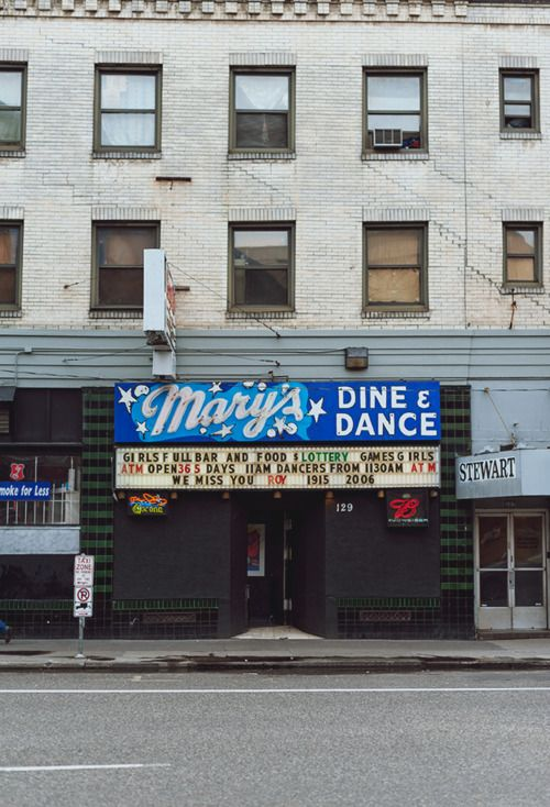 My grandmother used to play the piano for the strippers to dance to at Mary's. the oldest strip club in Portland.