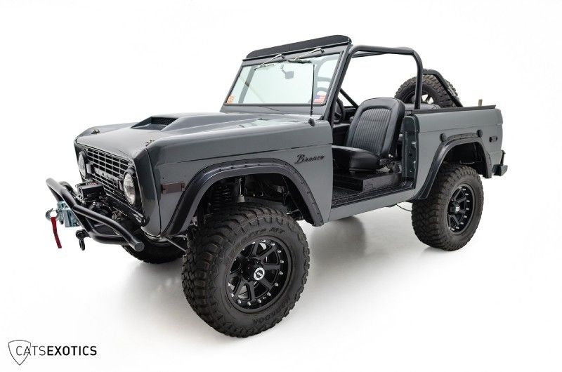 Custom 1971 Ford Bronco | Cats Exotics | Ride to the zombie apocalypse in style