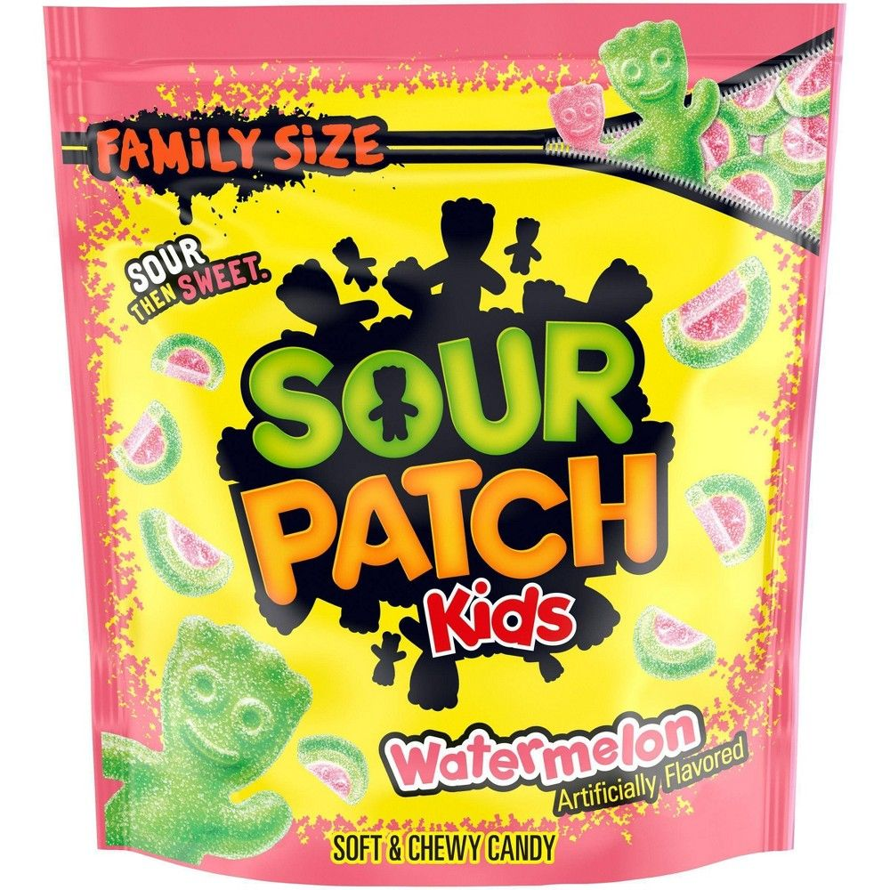 Sour Patch Watermelon Soft Chewy Candy 30oz In 2021 Sour Patch Kids Chewy Candy Sour Patch Watermelon