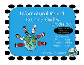Informational Report: Country Studies Bundle Pack