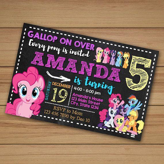 My Little Pony Invitation My Little Pony By Bolodewepixels