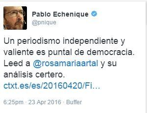 (16) #larosadepodemos - Búsqueda de Twitter