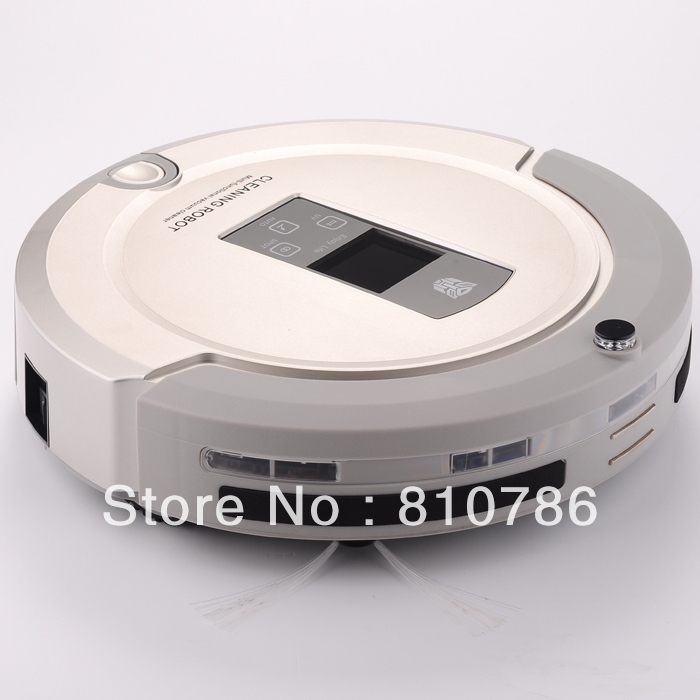 268.00$  Watch now - http://ali2sz.worldwells.pw/go.php?t=1266517077 - EMS Free Shipping For Russian /2013 Brand New Arriving Robot Vacuum Cleaner+Lowest Nosie+ Longest Working Time+UV lights 268.00$