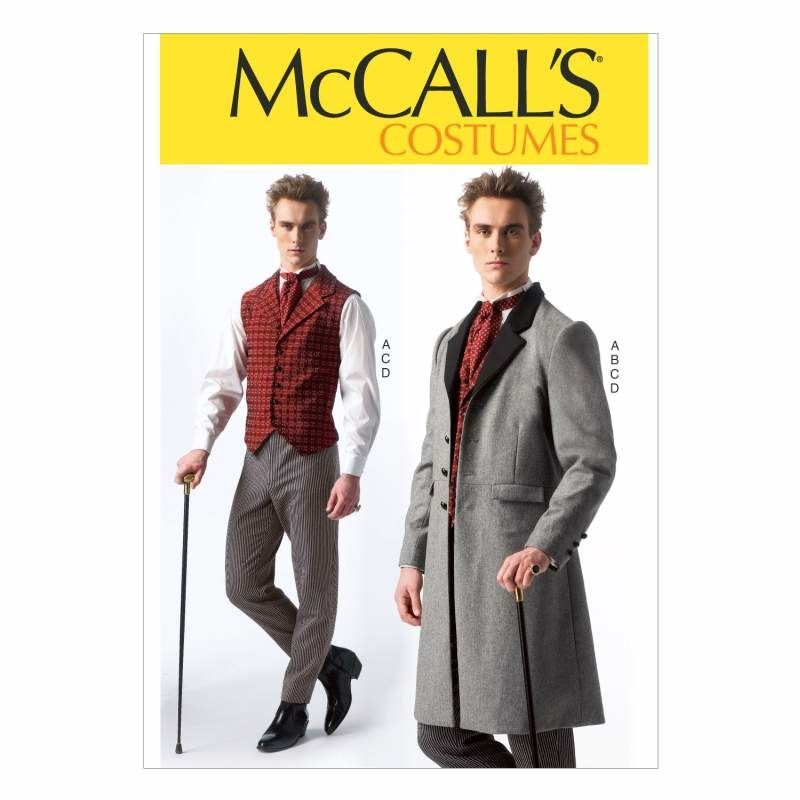 McCalls 7003 Cosplay wie Sherlock Holmes Gr. S-XXL 34-52 (de 44-62 ...
