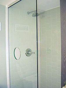 Access Hole In Shower Screen Shower Screen Shower Doors Glass