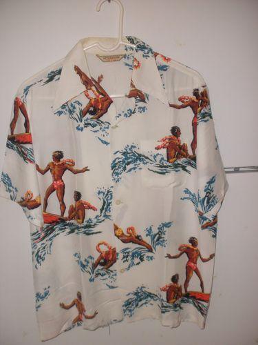 Vintage Hawaiin Shirts