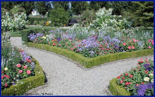 frenchgardendesign and gardens with american plants illustrate yet another page of