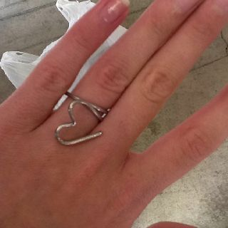 My new ring that i made at the barn!