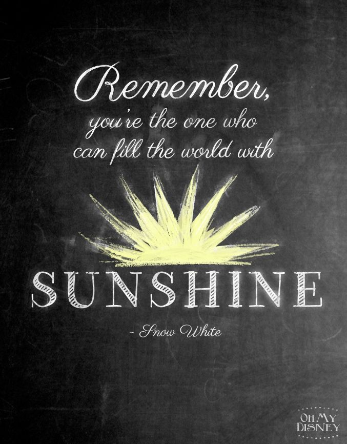 Resultado de imagen para remember you are the one who can fill the world with sunshine