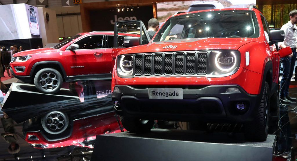 New Jeep Renegade And Compass Get Plug In Hybrid Powertrain With Up To 237hp Live Pics Jeep Renegade Jeep Renegade