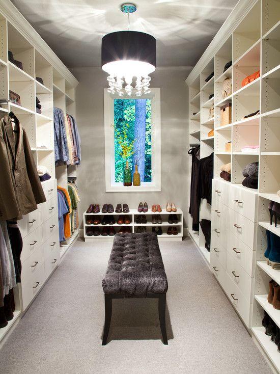 Inspiring Spaces Walk In Closet Closet Design Walk In Closet