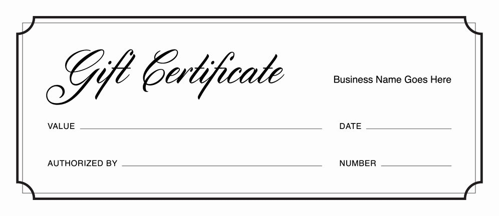 Free Gift Certificate Template Printable Unique Gift Certificate Templates D Free Printable Gift Certificates Gift Card Template Free Gift Certificate Template