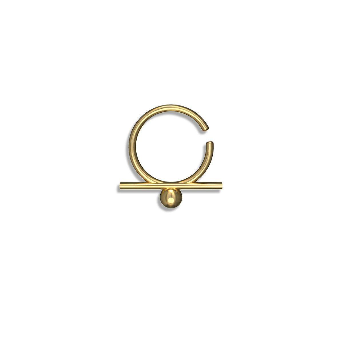 Unique septum ring , Septum , Male septum ring , Male septum , unique septum , gold septum ring , spetum , cool septum ring, Free Shipping