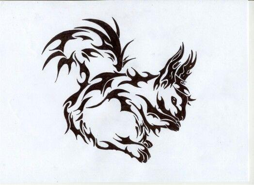 Tribal Squirrel Tattoo Squirrel Tattoo Tattoo Images