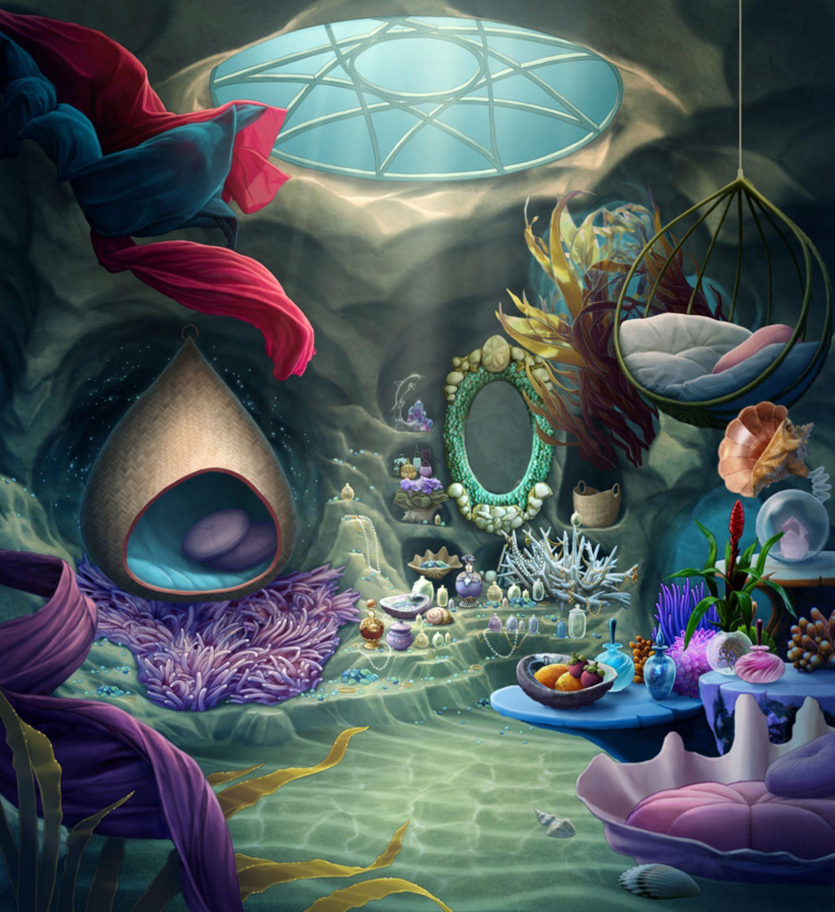 Mermaid Room By Tamiart On Deviantart
