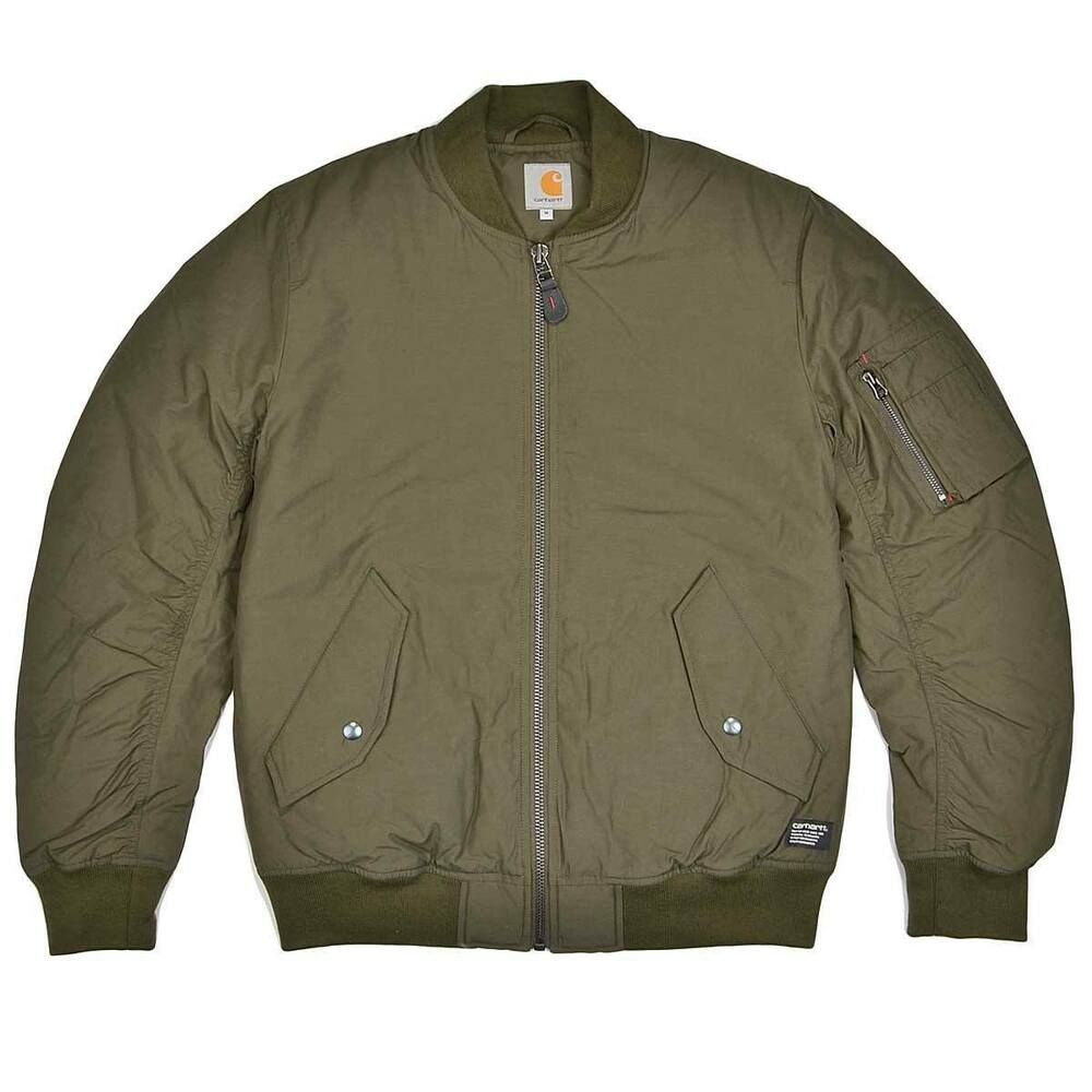 Carhartt Wip Clifton Bomber Jacket Cypress Xxl Fashion Clothing Shoes Accessories Mensclothing Coatsjackets Ebay Bomber Jacket Workwear Menswear Jackets [ 1000 x 1000 Pixel ]