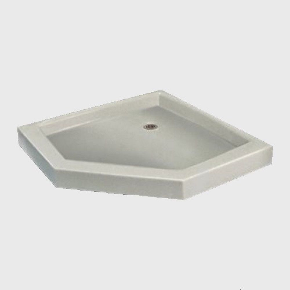 42 X 42 Neo Angle Threshold Shower Base In M 00 Antique White In
