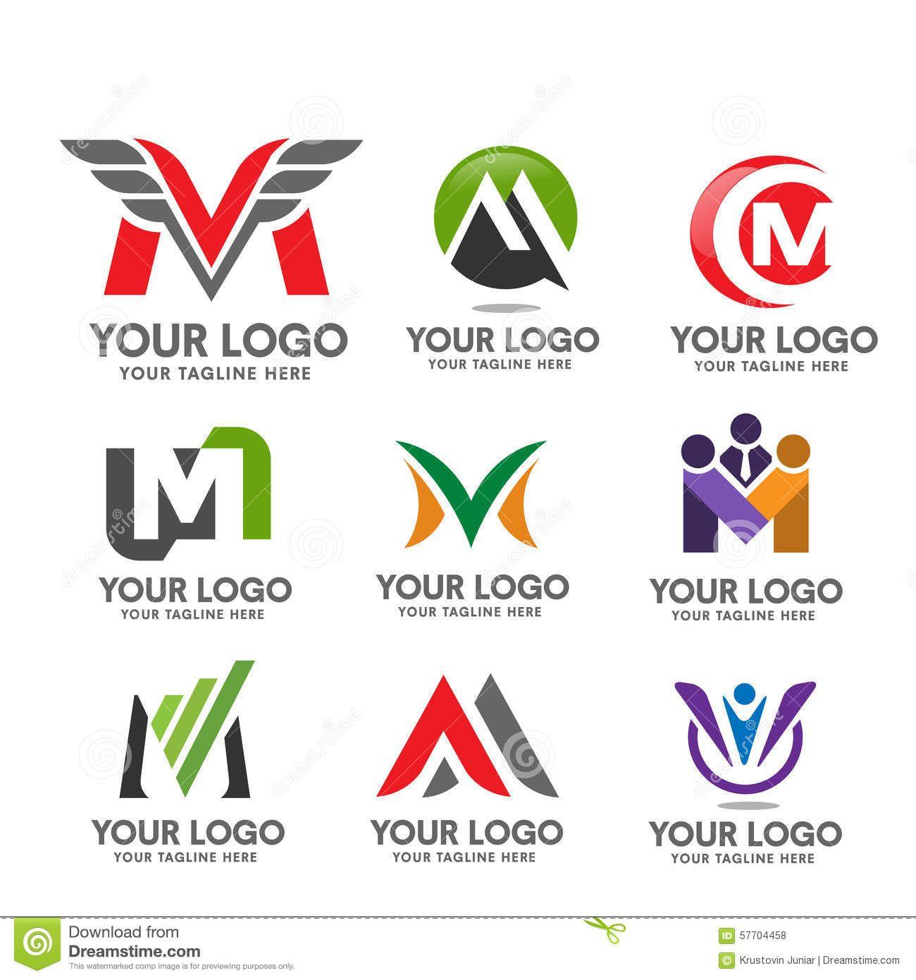 letter m Technology design Google pretraga M