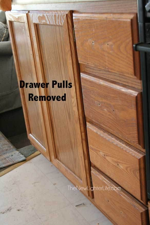 How to Paint RV Cabinets ~ Without Sanding or Primer | my crafts ...