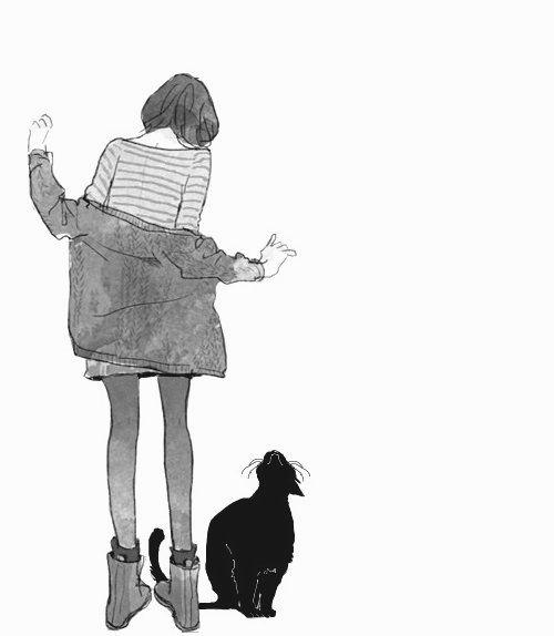 Cat manga and anime image manga - Manga femme chat ...