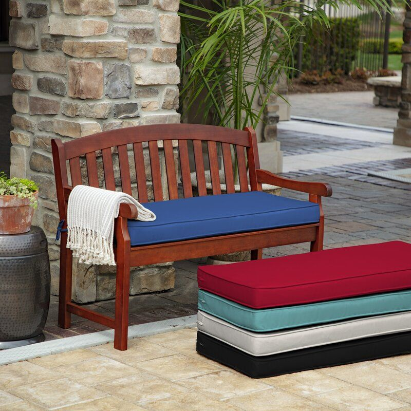 Profoam Outdoor Bench Cushion With Images Bench Cushions Outdoor Bench Outdoor Chaise Cushions