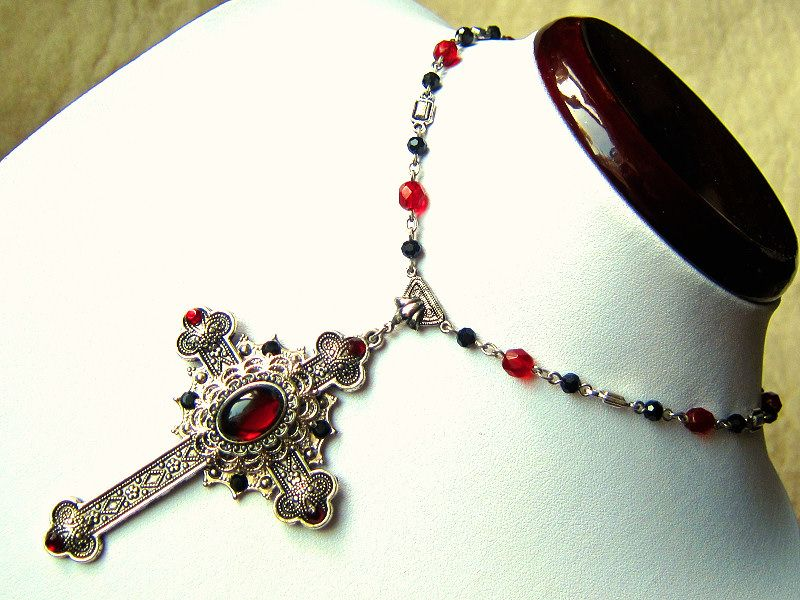 1 creative gothic cross choker necklaces gothic cross necklace 1 creative gothic cross choker necklaces gothic cross necklace ukgothic cross jewelrygothic cross chainblack gothic cross necklacelarge gothic cross aloadofball Image collections