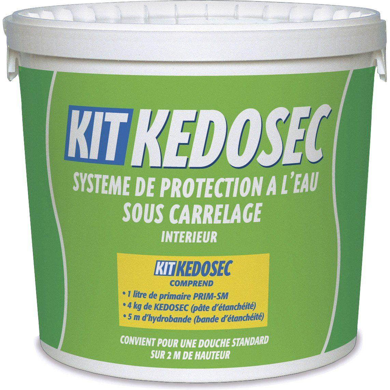 Kit Douche Semin Kedosec 5 Kg Blanc Douche Carrelage Interieur Et Kit