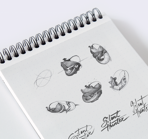 Branding Agency Shares Design Grid Gifs Sketches Of The Logos It