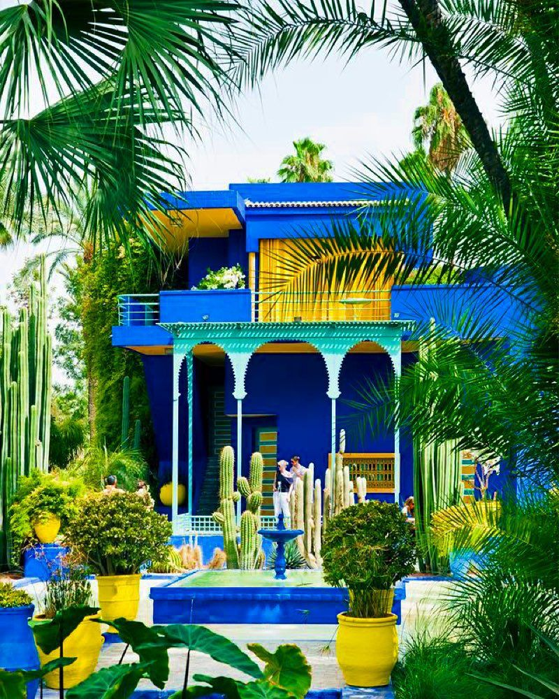 Cafe Near Jardin Majorelle: Check This Place Off Your #BucketList : Majorelle Garden