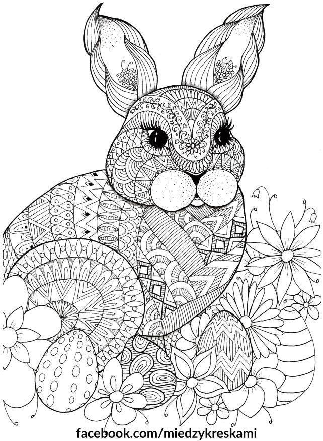 coloring pages  między kreskami  spring coloring pages