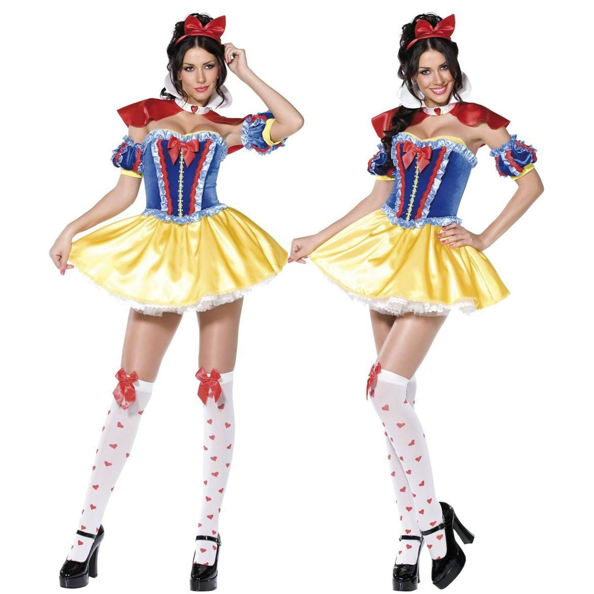 DISNEY SNOW WHITE HALLOWEEN CARNIVAL CHRISTMAS COSPLAY COSTUMES ...