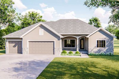 Plan 62430dj For The Empty Nester In 2020 Traditional House Plan House Plans Craftsman House Plans
