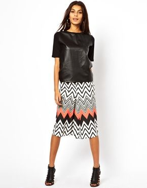 Image 1 of Liquorish Printed Skirt | Fashion | Pinterest ...