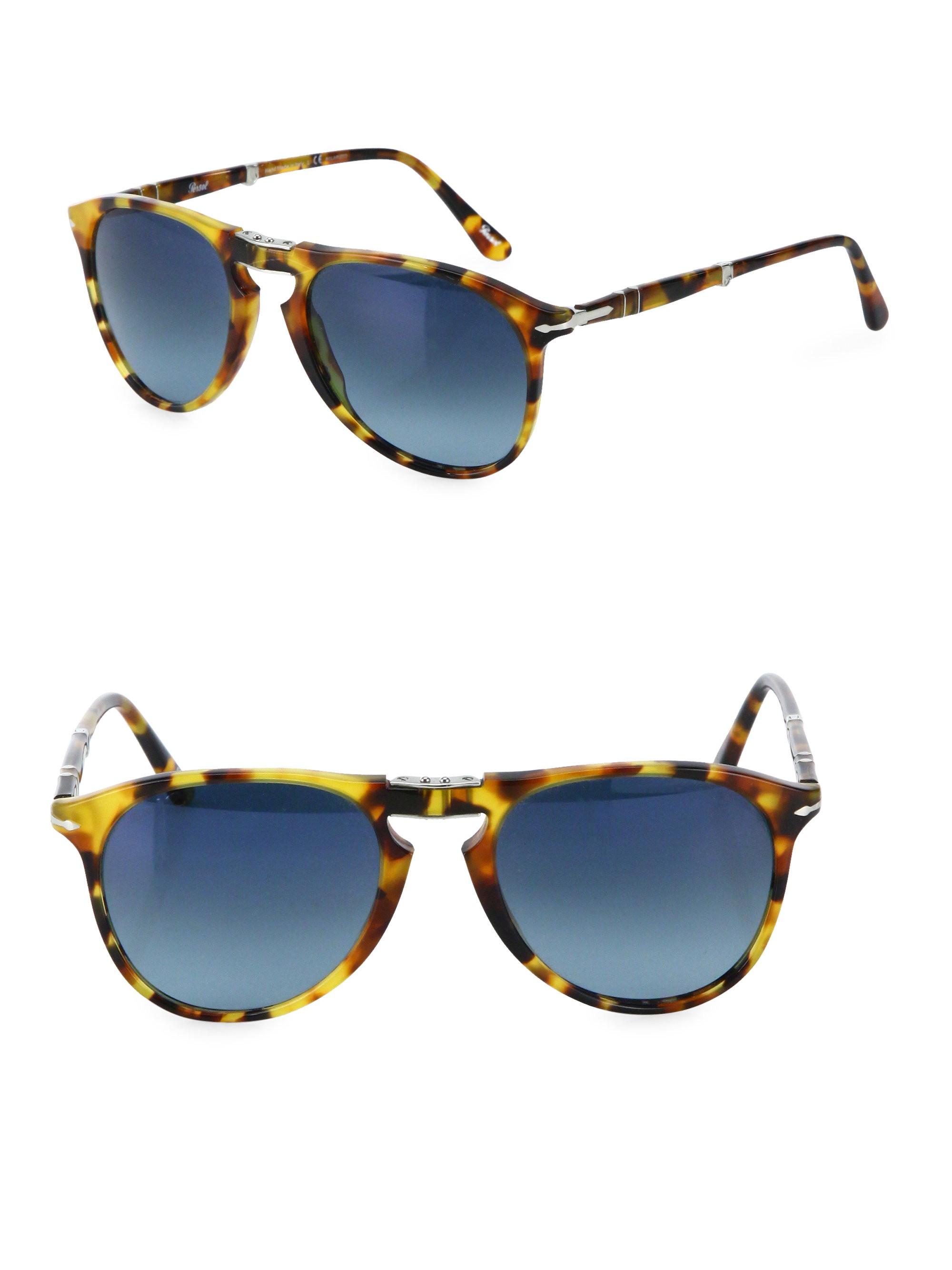 2c39fc844eead Persol 55Mm Pilot Sunglasses - Blue Grapol One Size