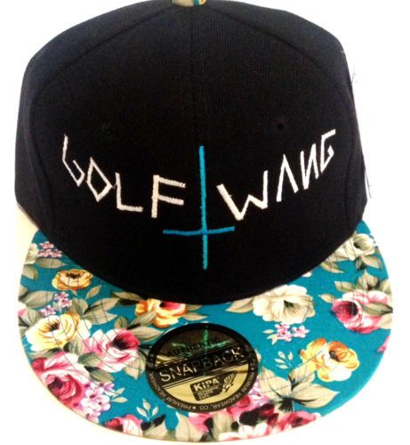 c918e9349360 Wolf Gang Snapback Golf Wang Flat Bill Hat Odd Future Tyler The Creator