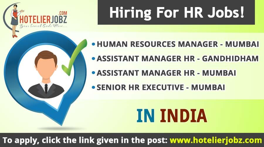 Looking For Personnel For The Following Hr Positions In Different