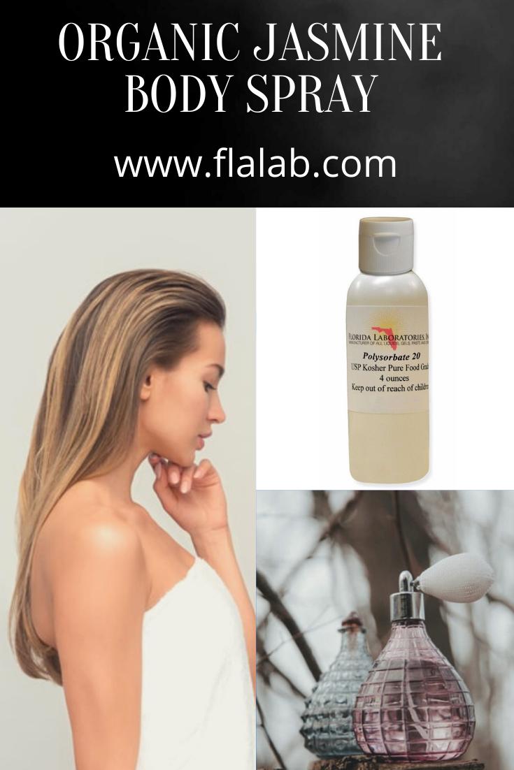 Where To Buy Polysorbate 20 Jasmine Body Mist In 2020 Homemade Body Spray Body Spray Body Spray Recipe
